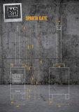 BBB Lijntekening Sparta Gate
