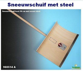Sneeuwschuif hout 50 cm